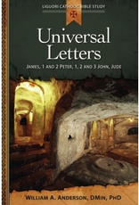 Liguori Universal Letters:  James, 1 and 2 Peter, 1, 2 and 3 John, Jude, by William Anderson (paperback)