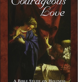 Emmaus Road Courageous Love: A Bible Study on Holiness for Women, by Stacy Mitch (paperback)