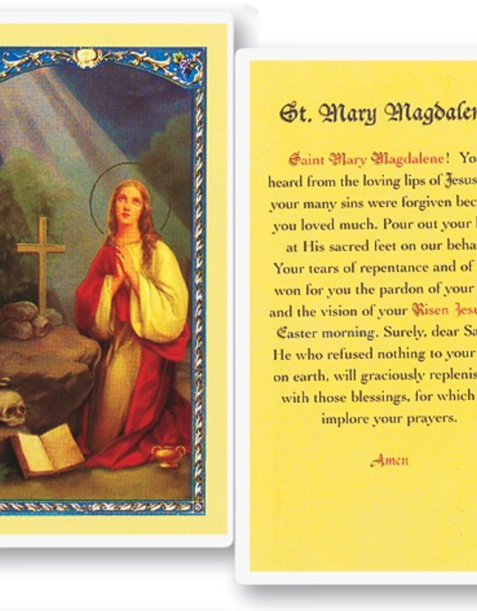 WJ Hirten St. Mary Magdalene Holy Cards (25/pk)