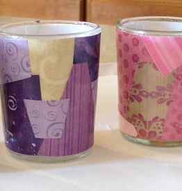 BC Inspirations BC Inspirations: Handcrafted Medium Decoupage Advent Candleholders