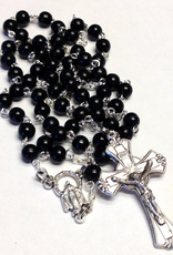 BC Inspirations BC Inspirations:  Handcrafted Black Wood Soldier's Rosary