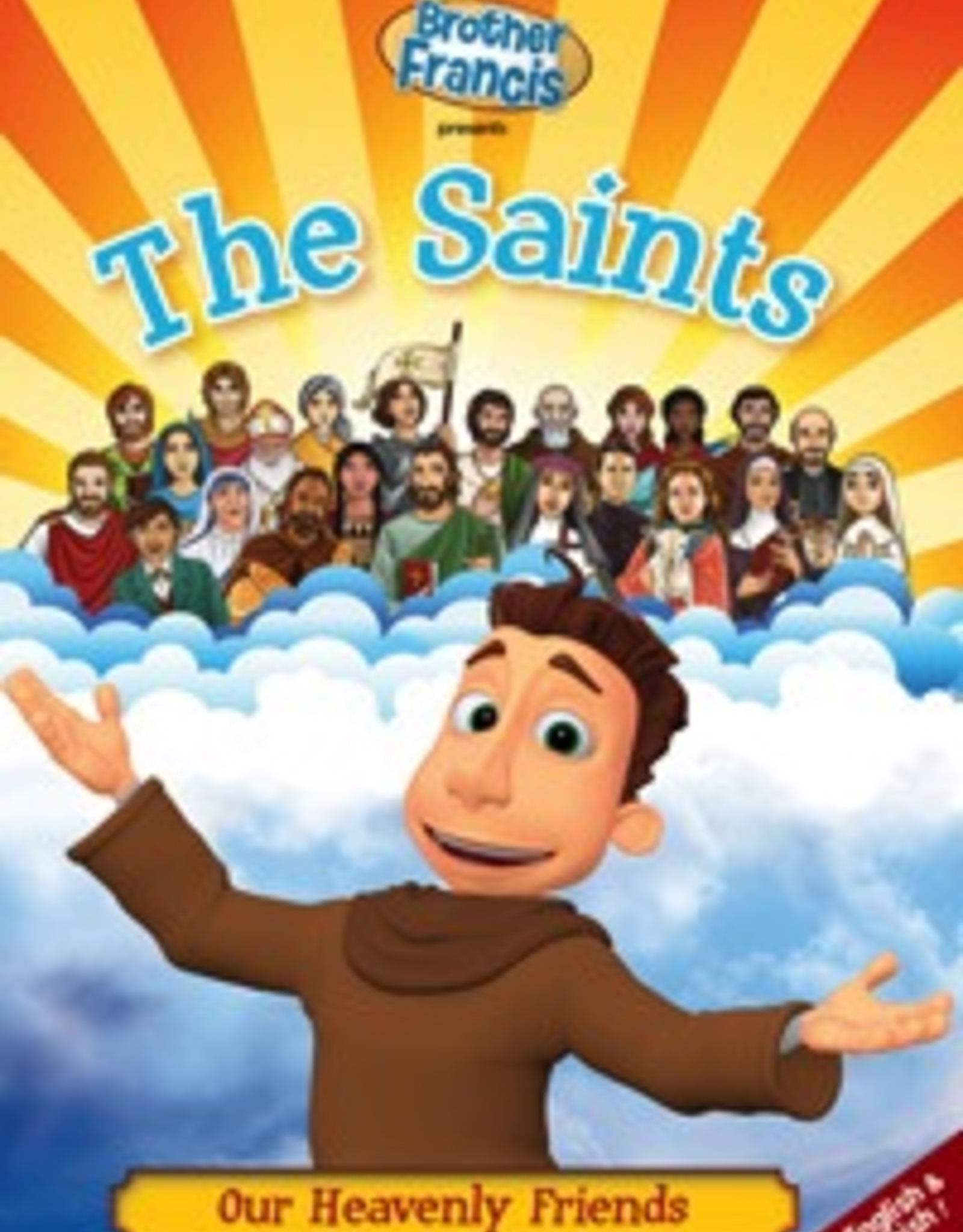 Ignatius Press Brother Francis:  The Saints, Our Heavenly Friends (DVD)