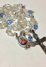 BC Inspirations BC Inspirations:  Handcrafted Immaculate Heart of Mary Rosary w/ Czech Glass Beads