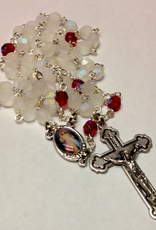 BC Inspirations BC Inspirations:  Handcrafted Divine Mercy Rosary w/ Matte beads