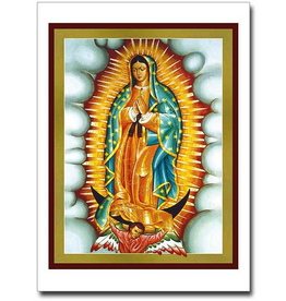 Printery House Our Lady of Guadalupe Cards w/ Envelope (10 per pkg)