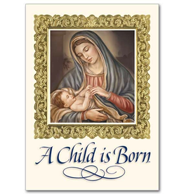 Printery House Madonna and Child Christmas Cards (18 Cards/19 Envelopes per pkg)