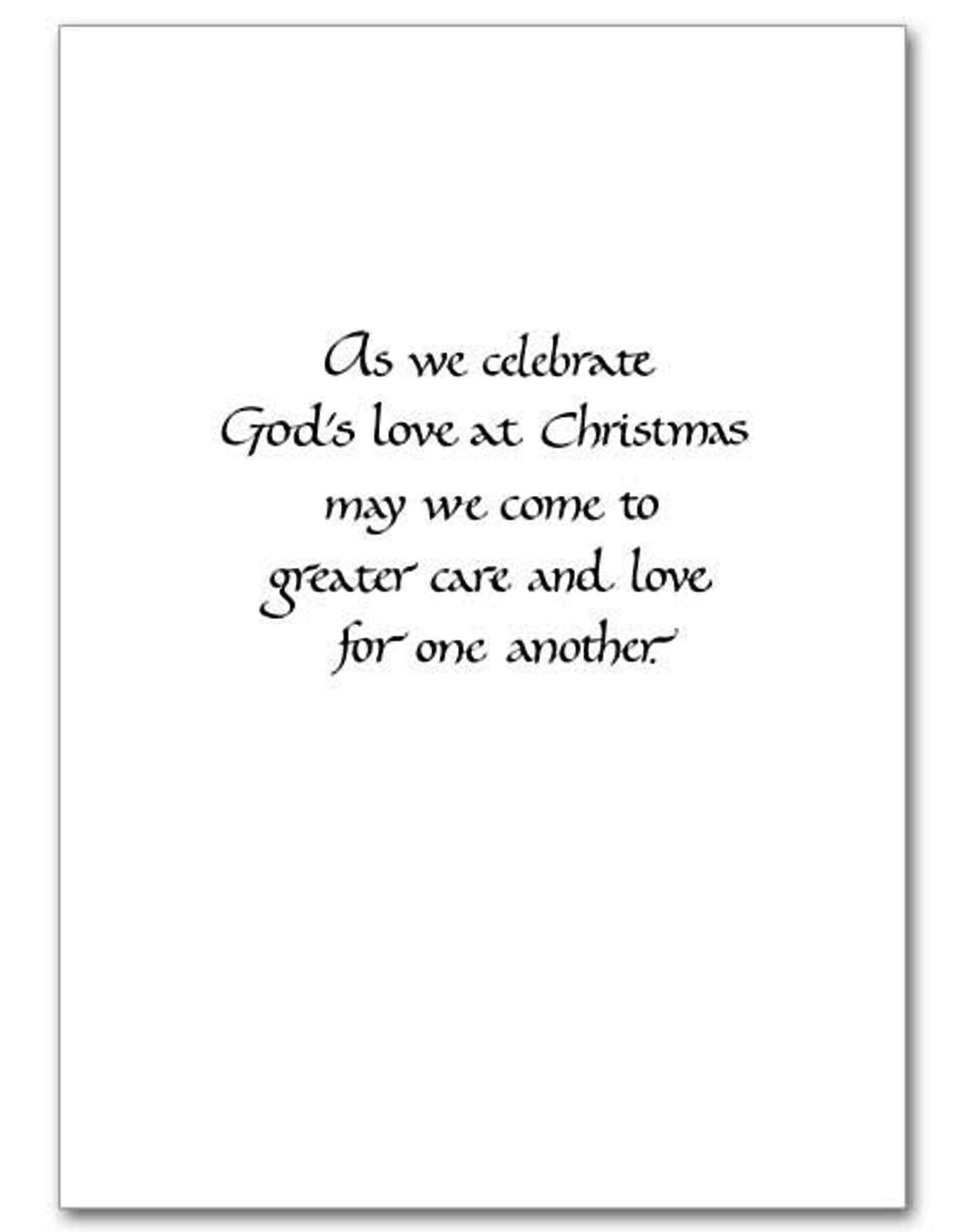 Printery House Flight into Egypt Christmas Cards (18 cards/19 envelopes per pkg)