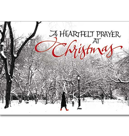 Printery House Abbey Heartfelt Prayer Christmas Cards (18 cards/19 envelopes per pkg)
