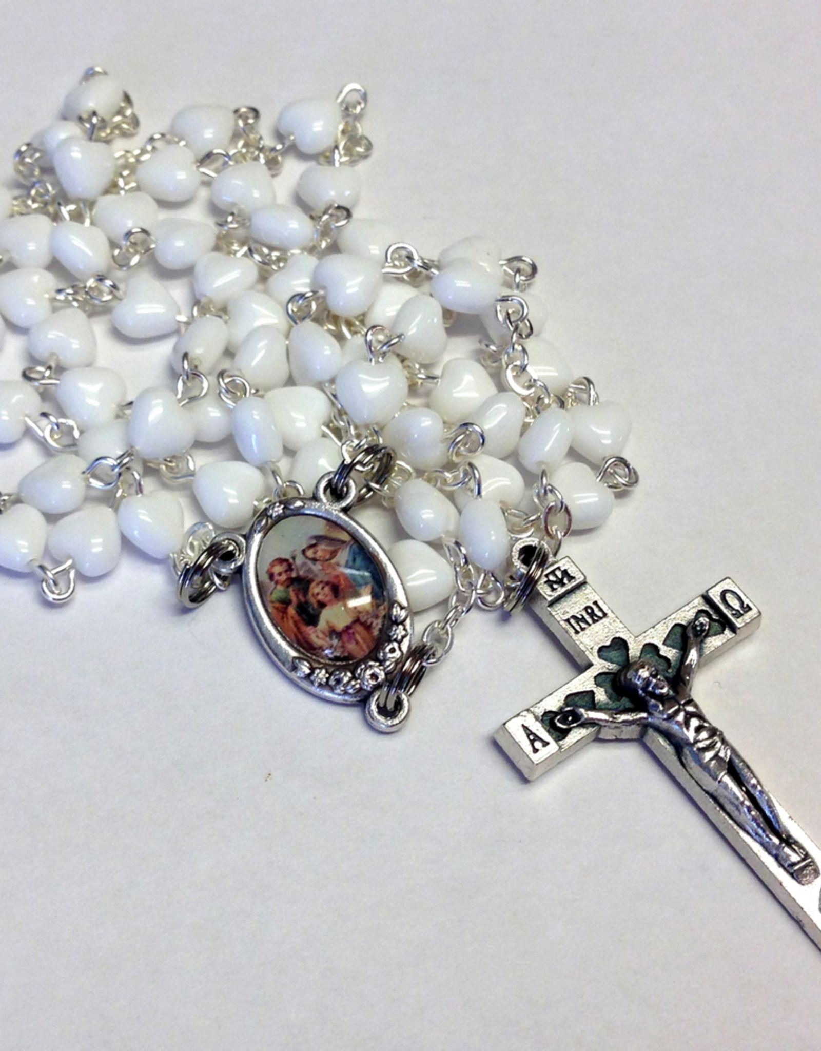 BC Inspirations BC Inspirations:  Handcrafted White Chastity Rosary