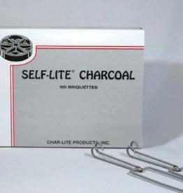 Char-lite CHAR-LITE Self Lighting Charcoal (QTY 100)