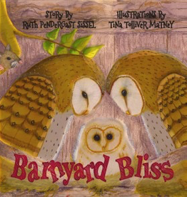 Catholic Word Publisher Group Barnyard Bliss, by Ruth Pendergast Sissel (hardcover)