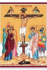 "Monastery Icons 11"" x 14"" Crucifixion Icon"