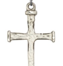 Bliss Manufacturing Nail Cross in Sterling Silver