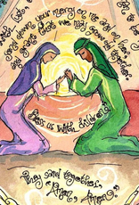Dovetail Ink Dovetail Ink:  Book of Tobit Wedding Prayer Watercolor (12x12 print)