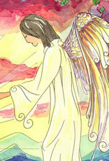 Dovetail Ink Dovetail Ink:  Annunciation Watercolor w/ Angelus Prayer (8x10 print)