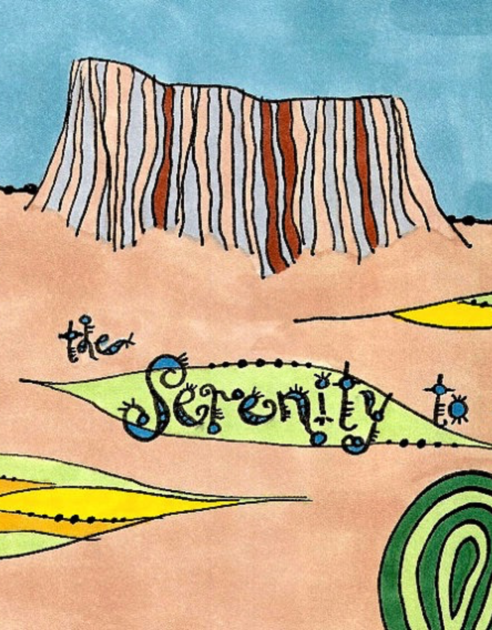 Dovetail Ink Dovetail Ink:  Serenity Prayer Part 1 (12x12 print)