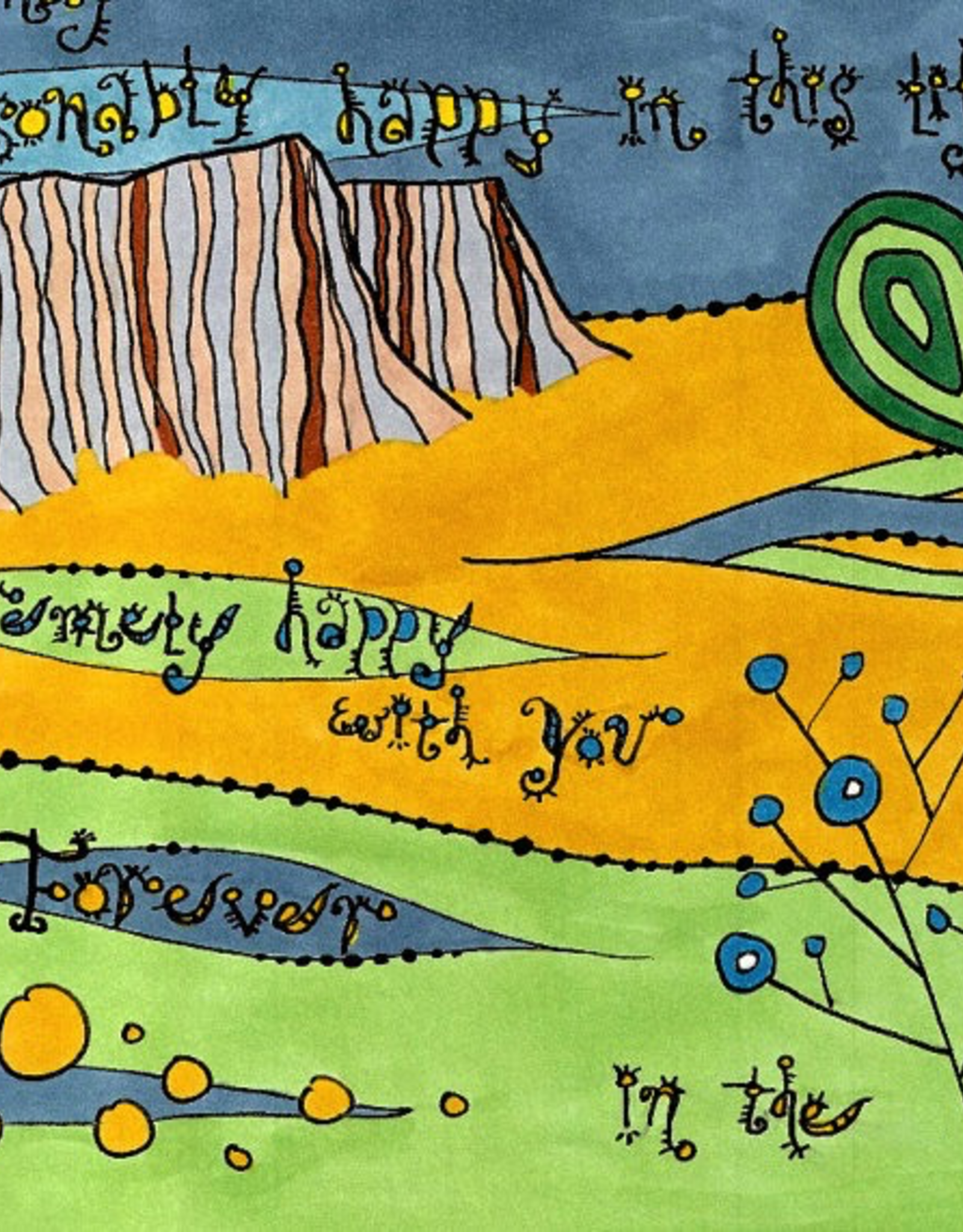 Dovetail Ink Dovetail Ink:  Serenity Prayer Part 3 (12x12 print)