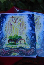 Dovetail Ink:  St. Michael the Archangel Prayer of Protection All Occasion Cards (8pk, 8 envelopes)
