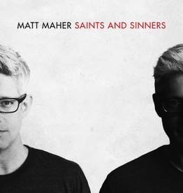 Provident Distribution Saints and Sinners, by Matt Maher (CD)