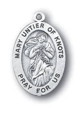 WJ Hirten Our Lady Untier of Knots Medal