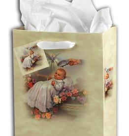WJ Hirten Baptism Gift Bag