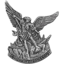 WJ Hirten Saint Michael Visor Clip