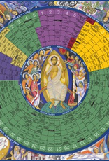 Liturgical Training Press Year of Grace Liturgical Calendar 2016 Laminated Poster (26x26)