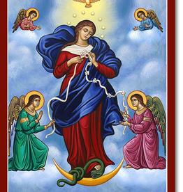 Monastery Icons 8Ì¢‰âÂå x 10Ì¢‰âÂå Mary Untier of Knots Icon
