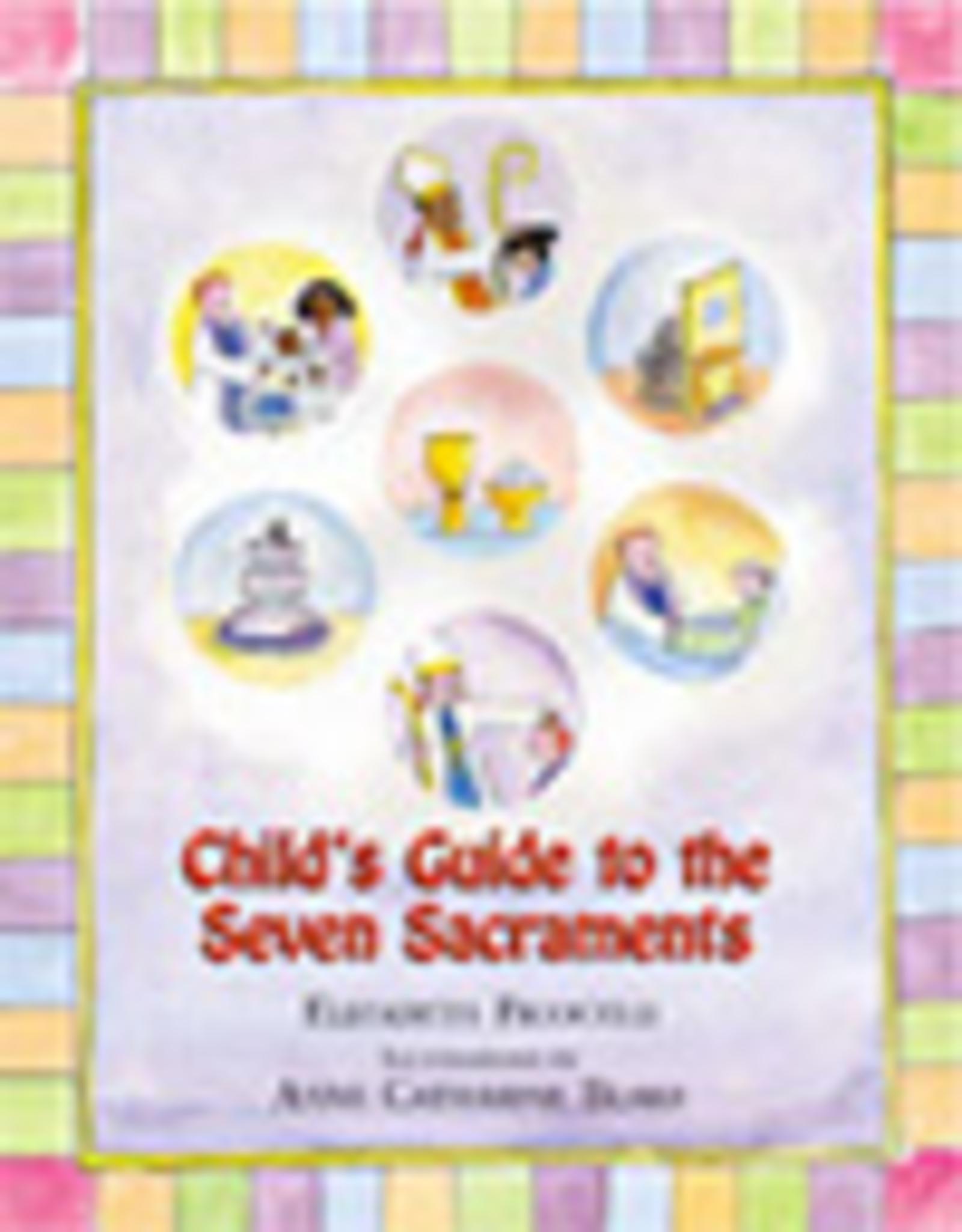 Paulist Press Child's Guide to the Seven Sacraments, by Elizabeth Ficocelli (hardcover)