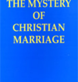 Paulist Press The Mystery of Christian Marriage, by Peter Jeffrey, CSSp (paperback)