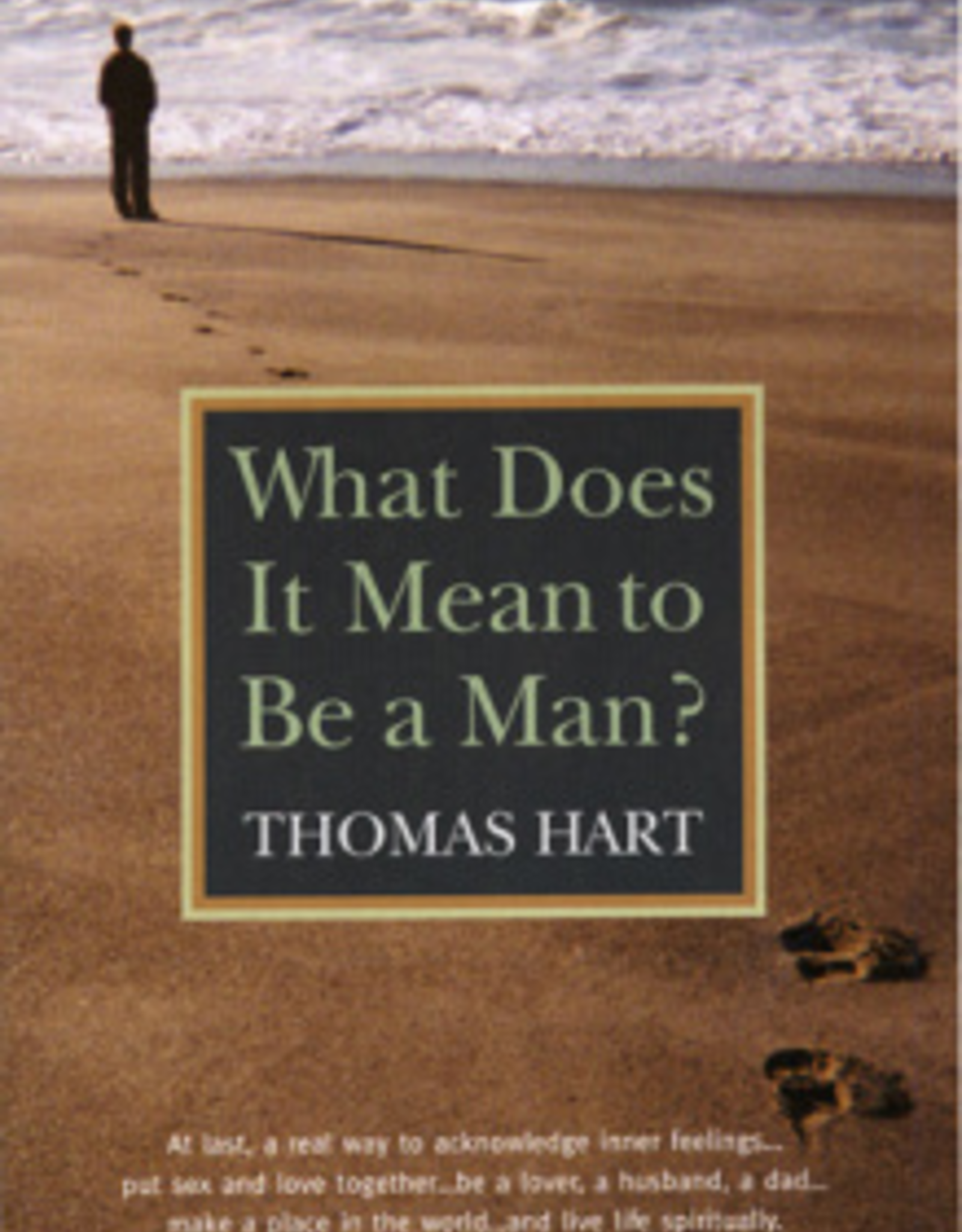 Paulist Press What Does It Mean to Be a Man?, by Thomas Hart (paperback)
