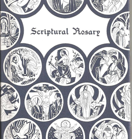Christianica Center Scriptural Rosary, by Christianica Center, with illustrations by Virginia Broderick