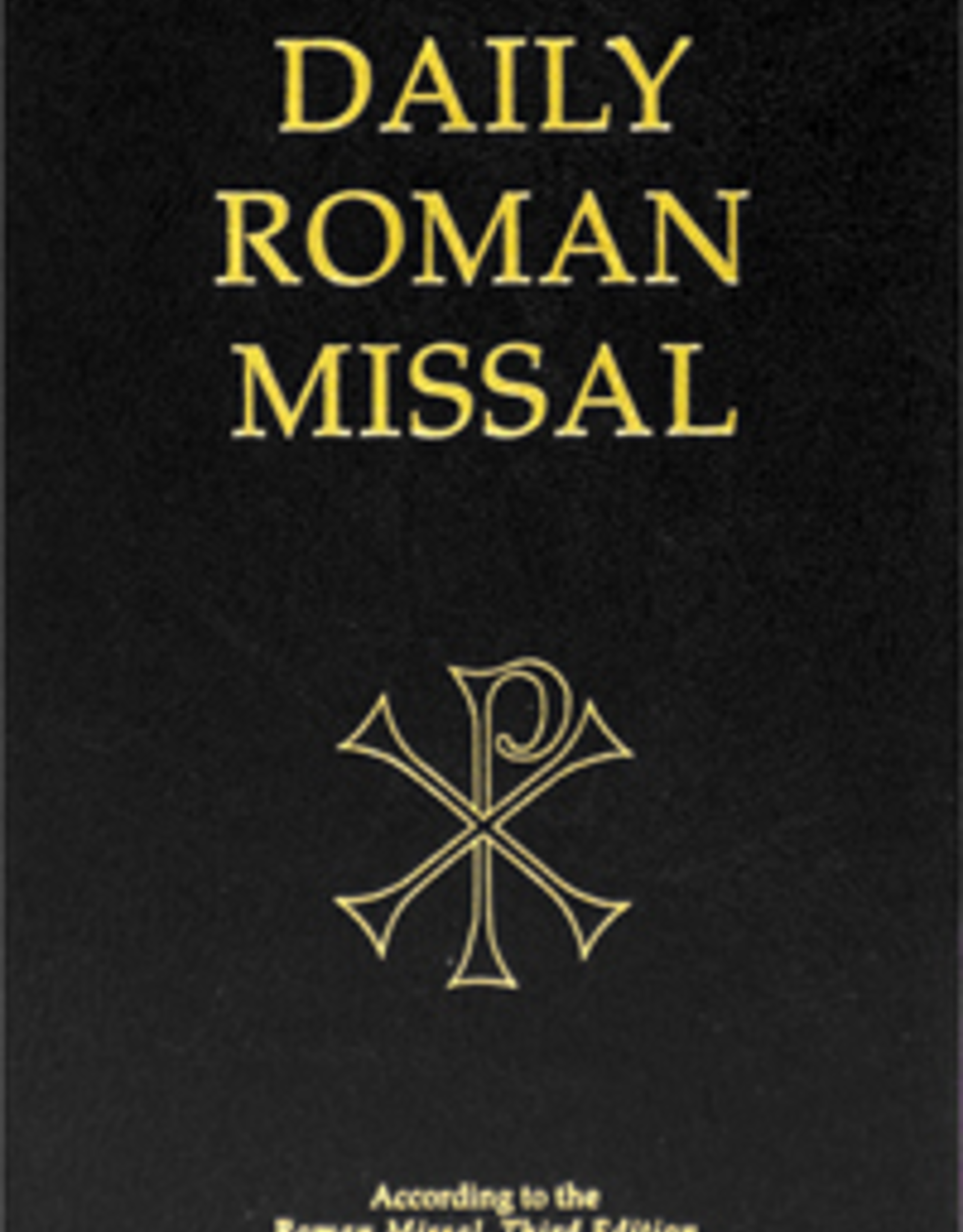 Midwest Theological Forum Daily Roman Missal, Third Edition of the Order of Mass  (Hardcover, Black)