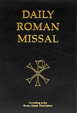 Midwest Theological Forum Daily Roman Missal, Third Edition of the Order of Mass (Genuine Leather, Black)