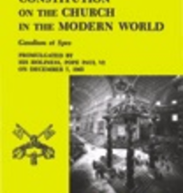 Pauline Pastoral Constitution on the Church in the Mordern World (Gaudium et Spes.)