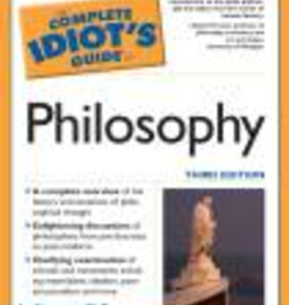 Penguin The Complete Idiot's Guide to Philosophy, by Jay Stevenson, Ph.D. (paperback)