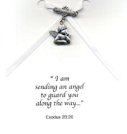Illumigifts Guardian Angel Baptism Pin Gift Card