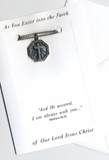 Illumigifts Adult Baptism Isaish Medal Gift Card
