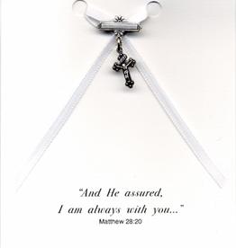 Illumigifts Cross Pin Baptism Gift Card