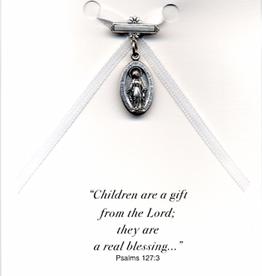 Illumigifts Miraculous Pin Baptism Gift Card