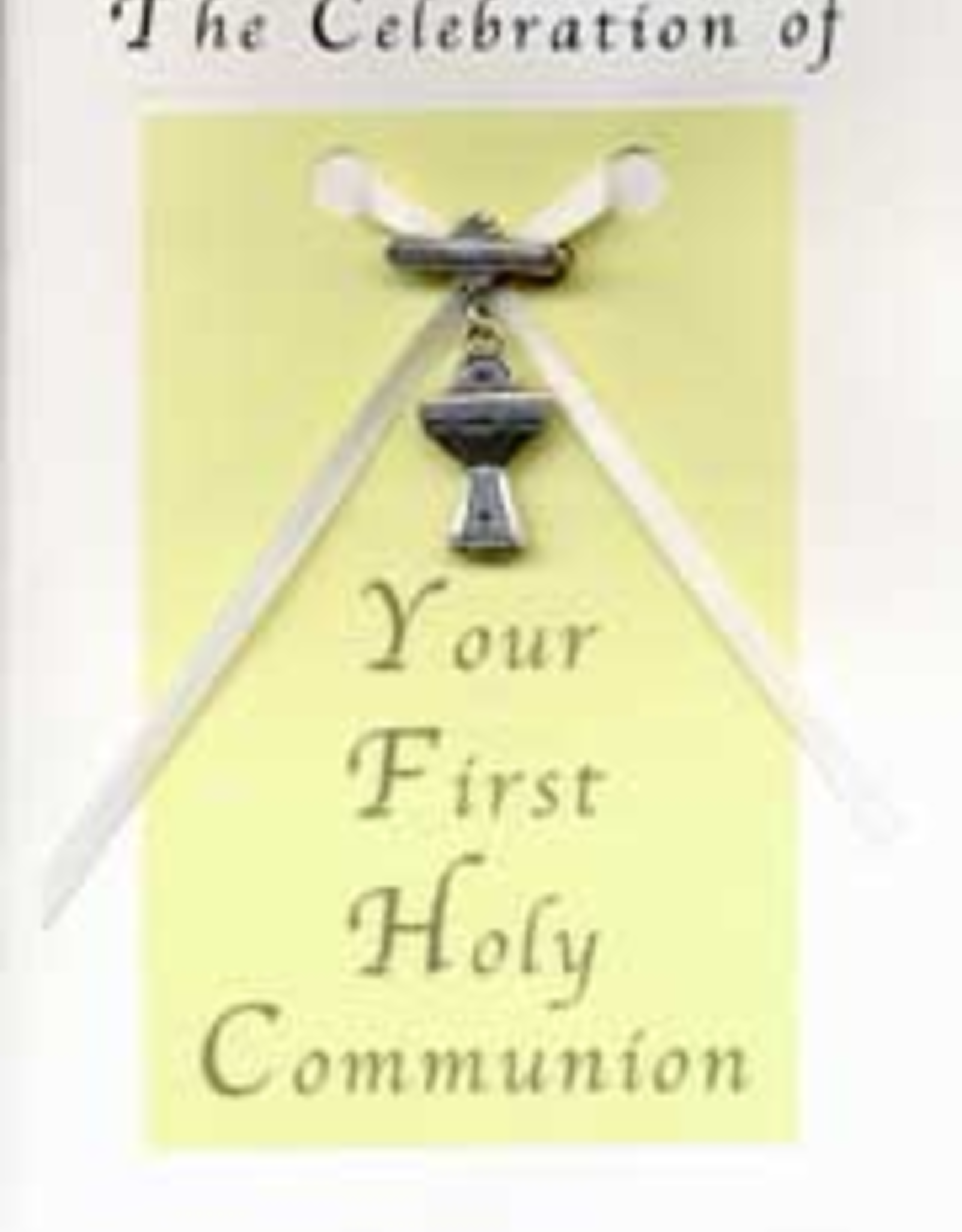 Illumigifts First Communion Chalice Pin Baptism Gift Card