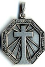 """Illumigifts Confirmation Isaiah Medal Gift Card Necklace (24"""" Stainless Steel Chain Included)"""