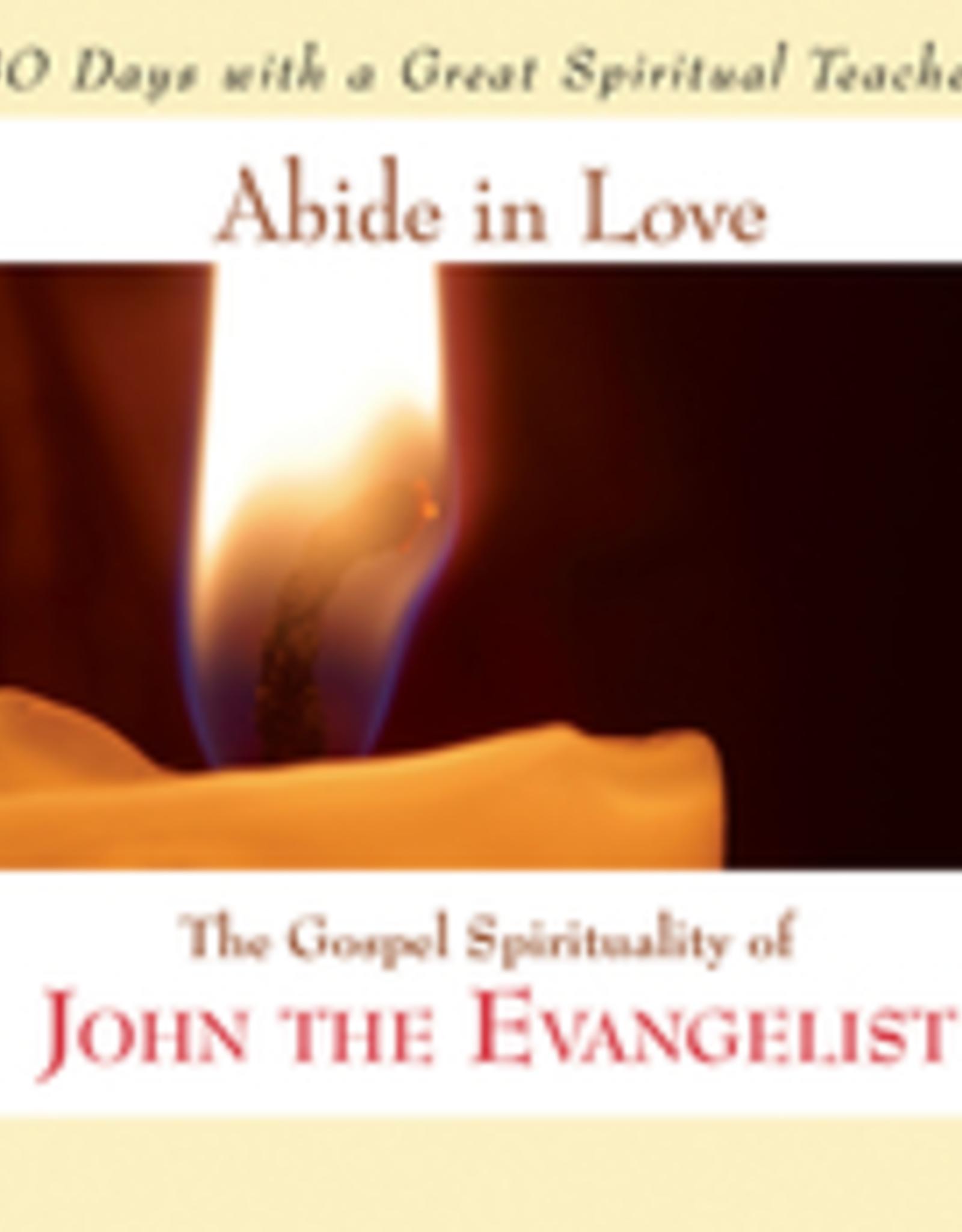 Ave Maria Press Abide in Love, by St. John the Evangelist, edited by John Kirvan (paperback)