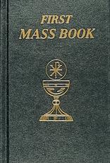 Catholic Book Publishing Black First Mass Book (imitation leather)