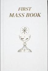 Catholic Book Publishing White First Mass Book (imitation leather)