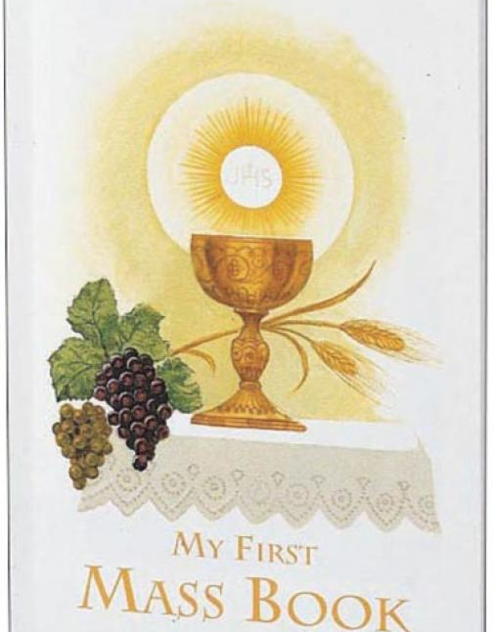 Catholic Book Publishing Girl's First Mass Book (My First Eucharist Edition) (hardcover)