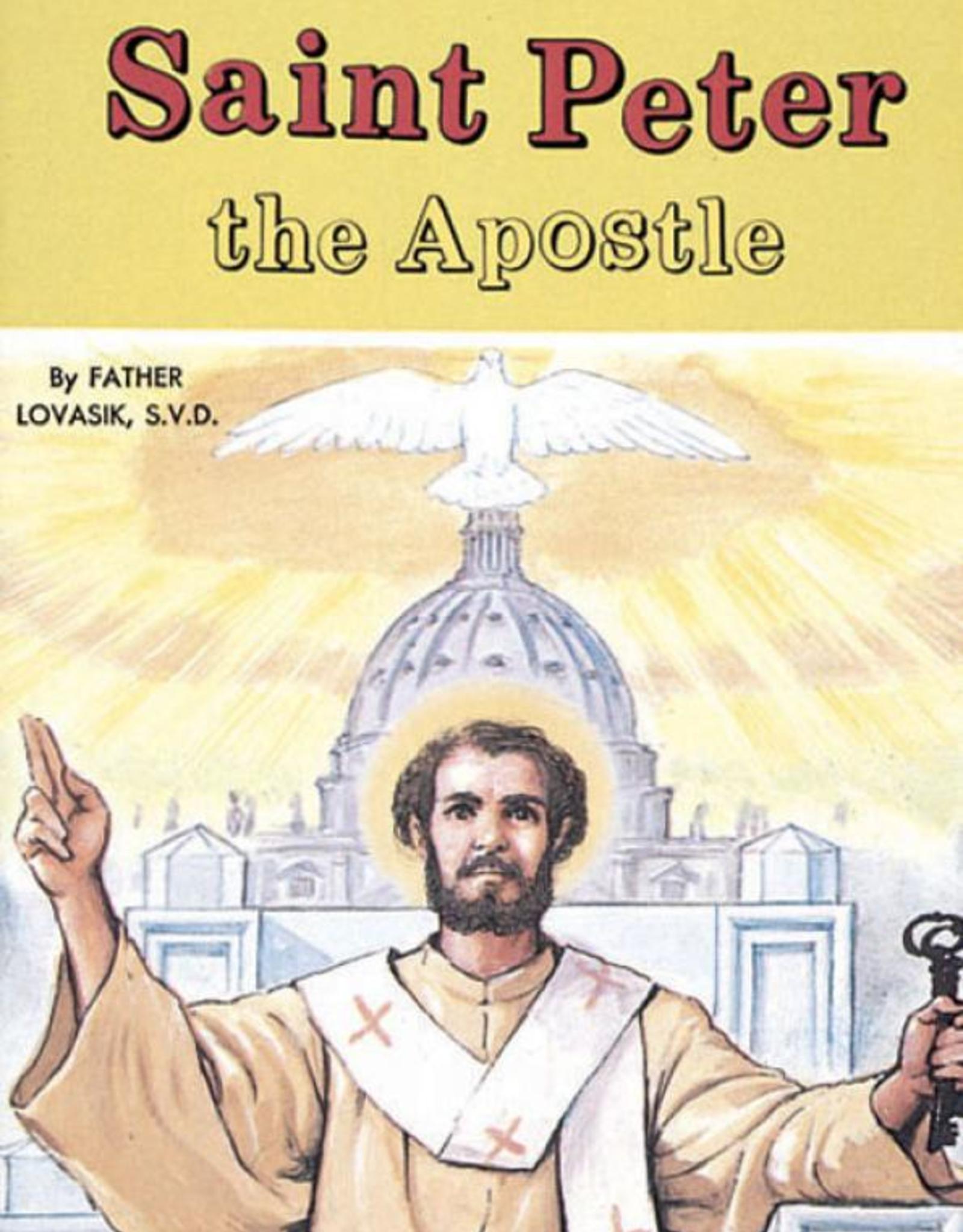 Catholic Book Publishing Saint Peter the Apostle, by Rev. Lawrence Lovasik (paperaback)