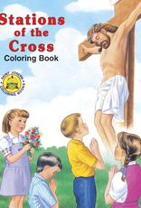Catholic Book Publishing Coloring Book About the Stations of the Cross (paperback)