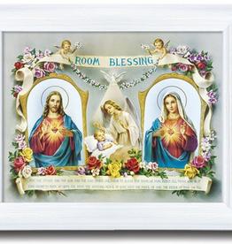 """WJ Hirten 10 x 12"""" Baby Room Blessing"""