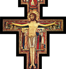 Nelson/Catholic to the Max San Damiano Wall Cross, 11 x 15""""